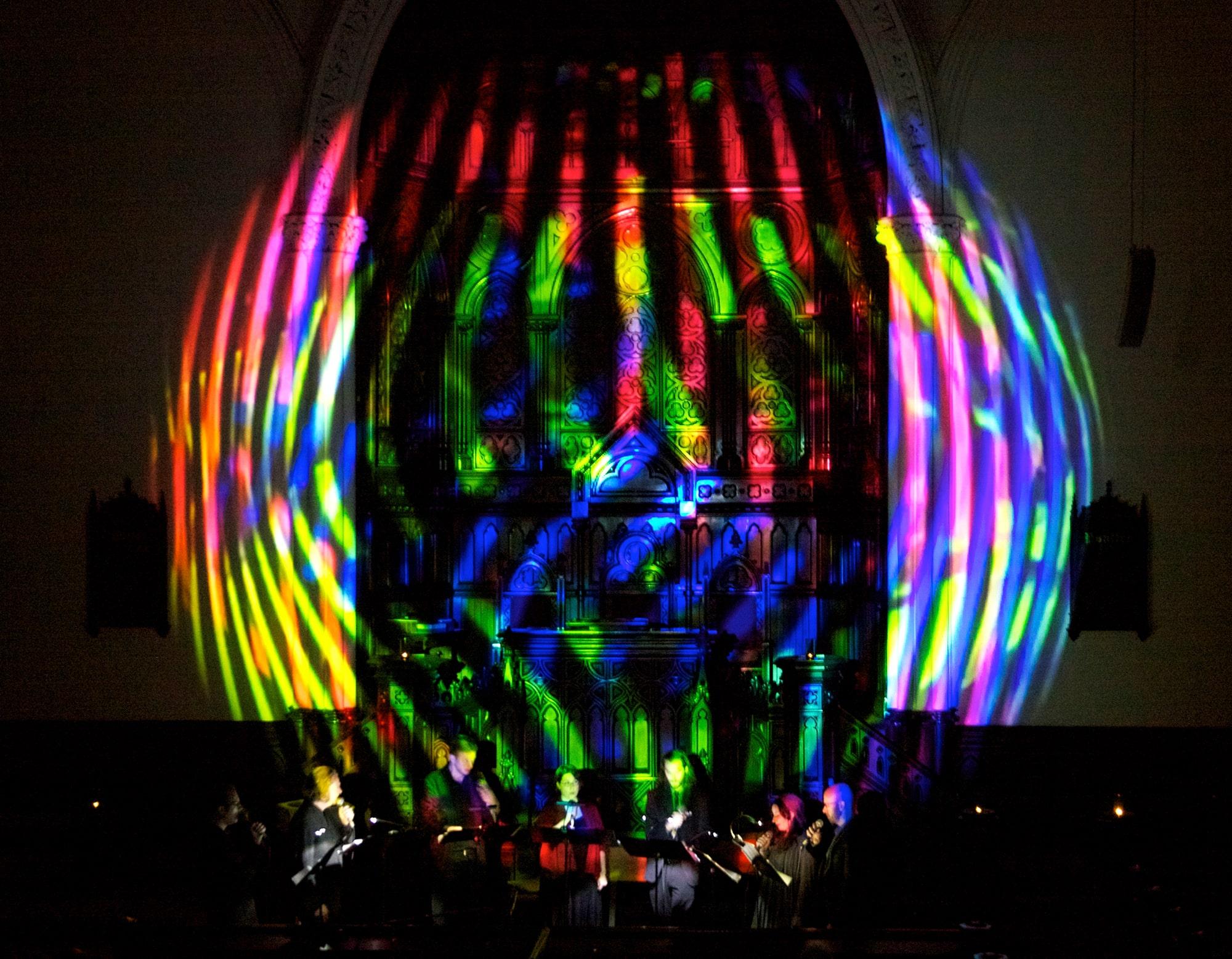 Ekmeles Vocal Ensemble performing Randy Gibson's *Circular Trance Surrounding The Second Pillar...* at Music At First